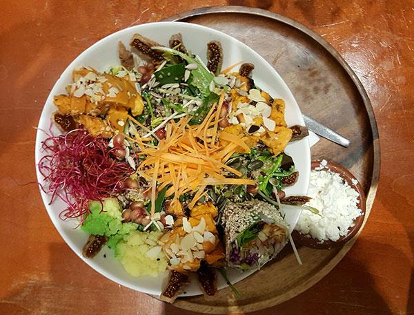 vegetarisch eten gerechten