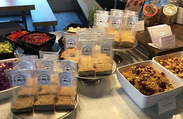 bedrijfslunch catering quinoa