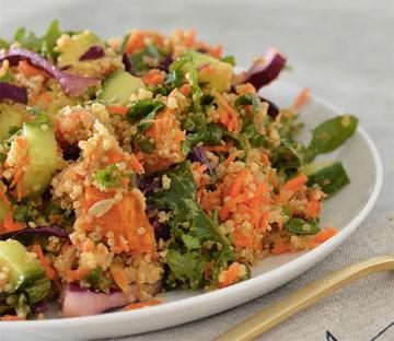 gezonde recepten quinoa lunch