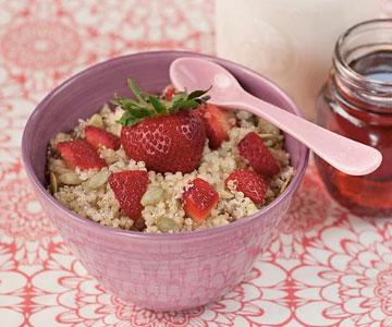 gezonde recepten ontbijt quinoa