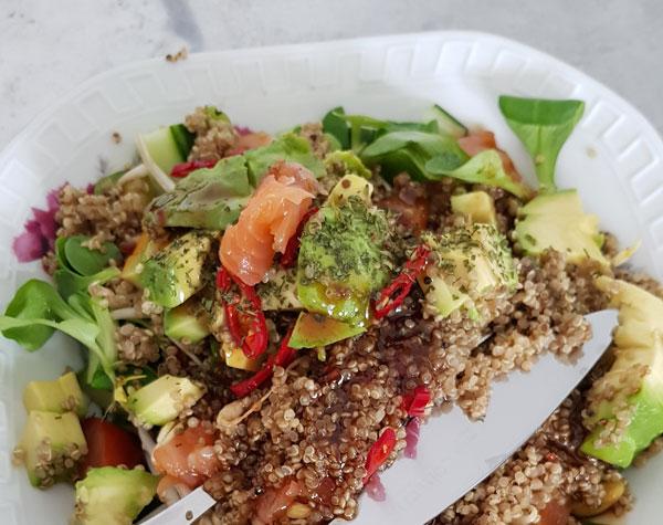 Quinoa salade met quinoa