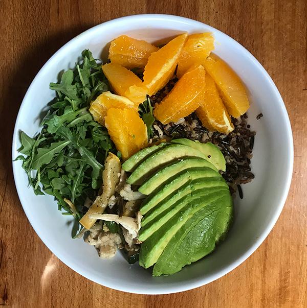 quinoa recepten met avocado en sinaasappel